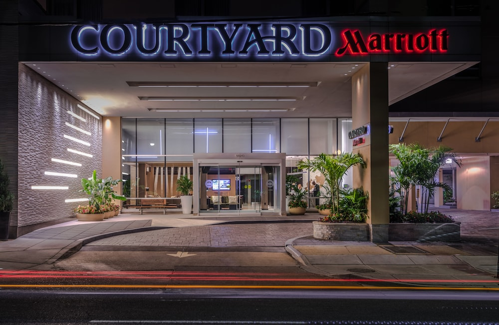 Front of Property - Evening/Night, Courtyard by Marriott Bethesda/Chevy Chase