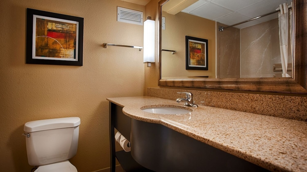 Bathroom, Best Western Plus Greensboro/Coliseum Area