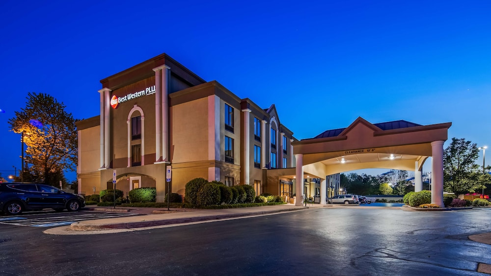 Exterior, Best Western Plus Greensboro/Coliseum Area