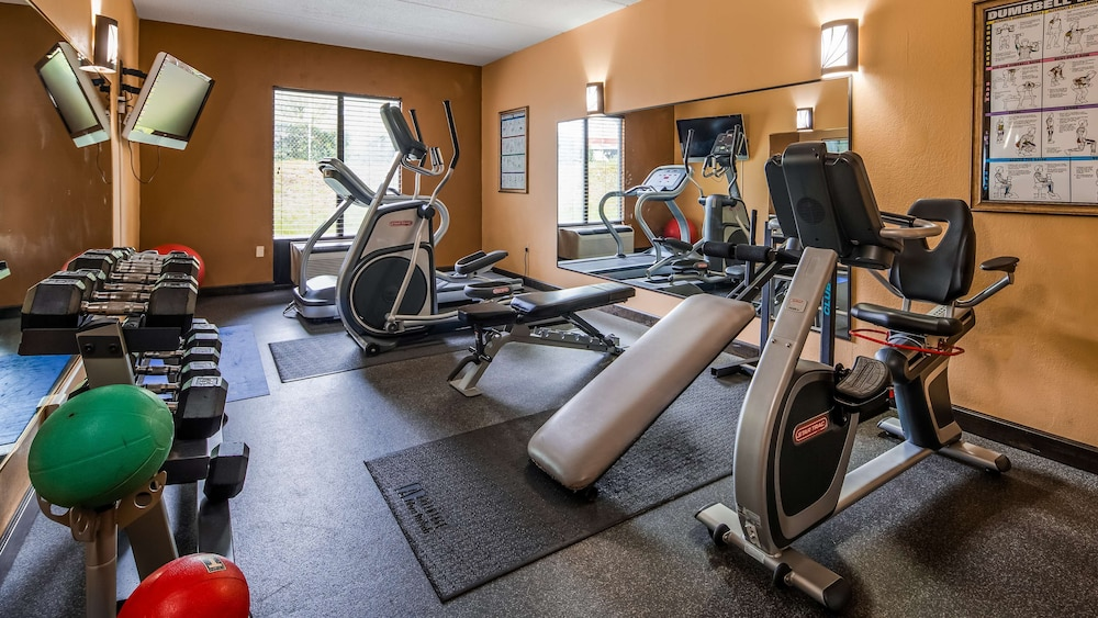 Fitness Facility, Best Western Plus Greensboro/Coliseum Area