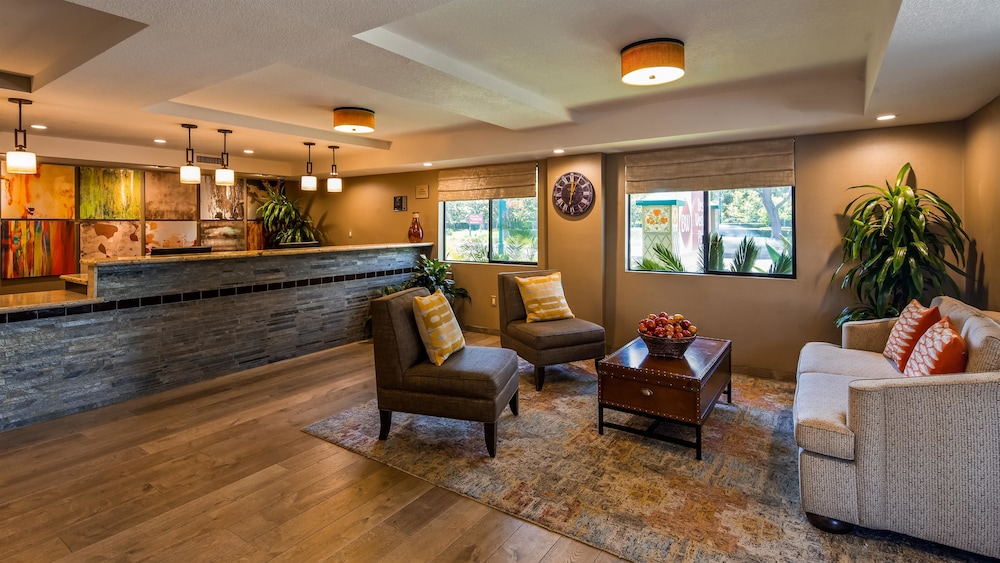 Best Western Plus Anaheim Inn 2 5 Out Of 0 Exterior Featured Image Lobby