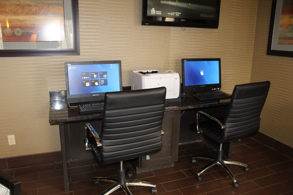 Business Center, Best Western Plus Wichita West Airport Inn
