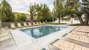 Indoor pool, 2 outdoor pools, open 8:00 AM to 8:30 PM, sun loungers