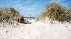 Am Strand, Strandtücher, Schnorcheln, Wasserski