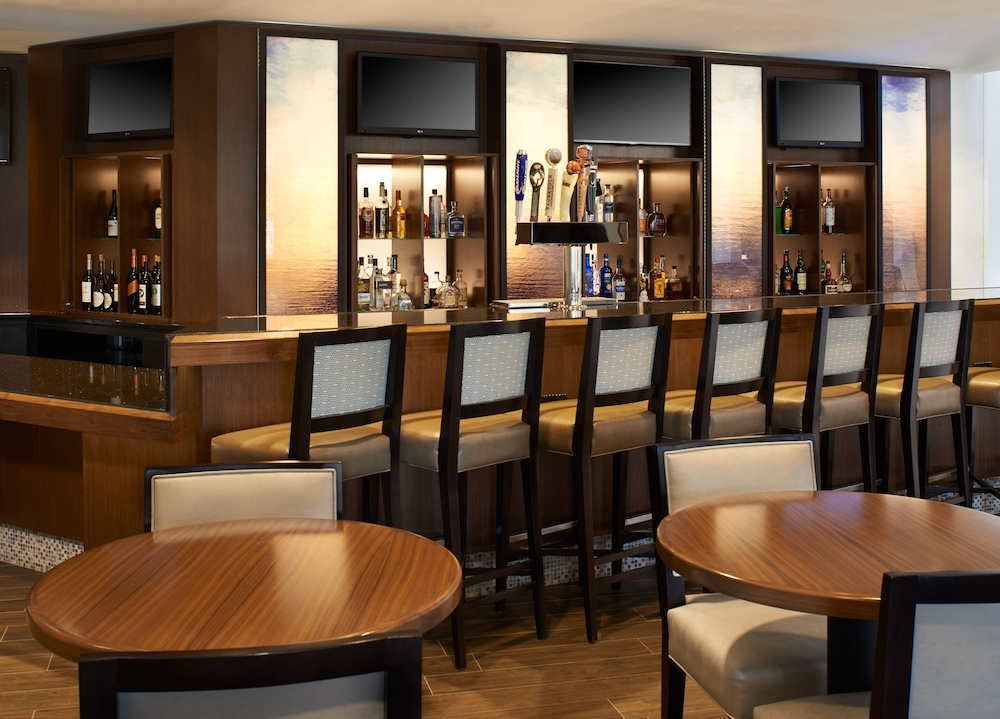 Bar, Detroit Metro Airport Marriott