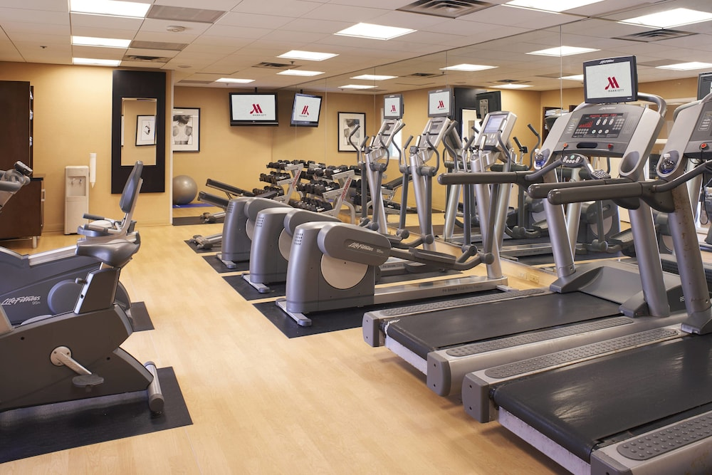 Fitness Facility, Detroit Metro Airport Marriott