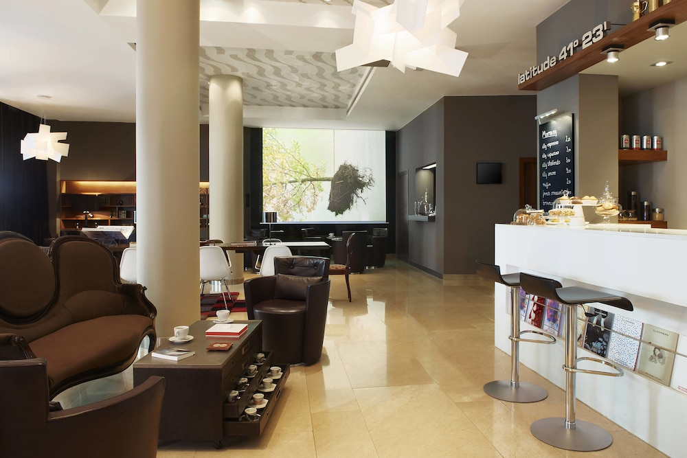 Breakfast Area, Le Meridien Barcelona
