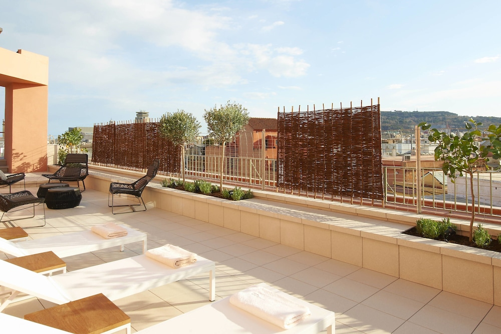 Terrace/Patio, Le Meridien Barcelona