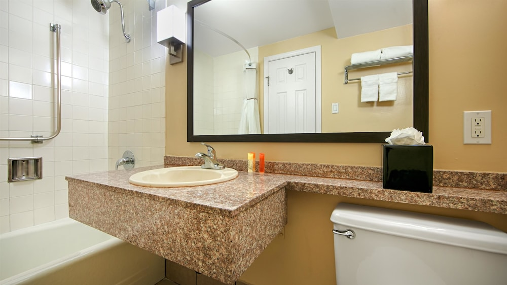 Bathroom, Best Western Canoga Park Motor Inn