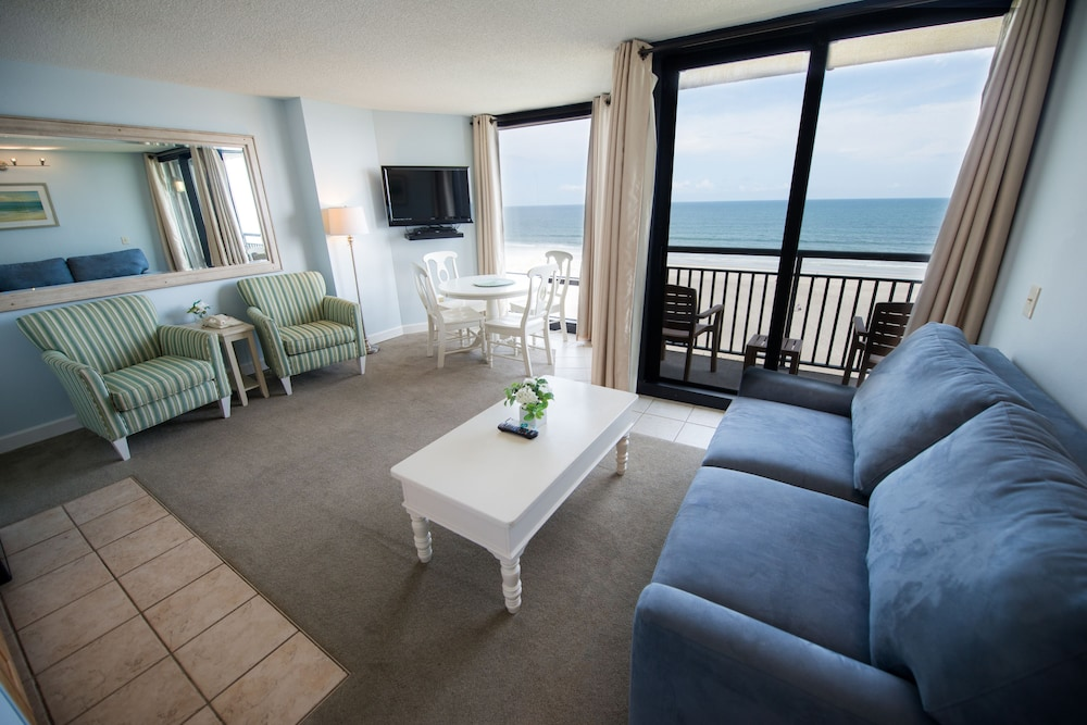 Living Room, Shell Island Resort - All Oceanfront Suites