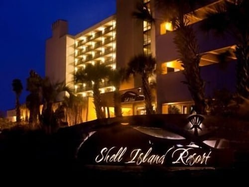 Front of Property - Evening/Night, Shell Island Resort - All Oceanfront Suites