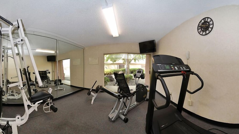 Fitness Facility, Quality Inn Santa Fe