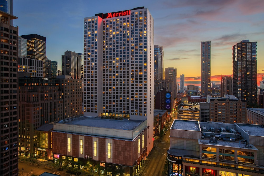 Chicago Marriott Downtown Magnificent Mile In Chicago