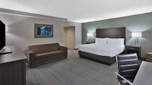 Pillowtop-Betten, Schreibtisch, laptopgeeigneter Arbeitsplatz