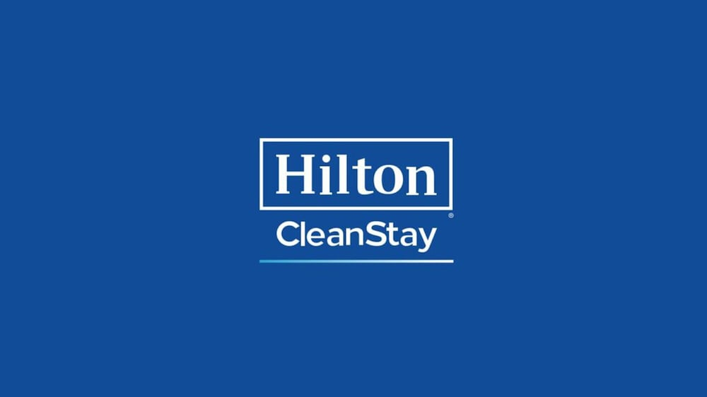Cleanliness badge, DoubleTree by Hilton New Orleans