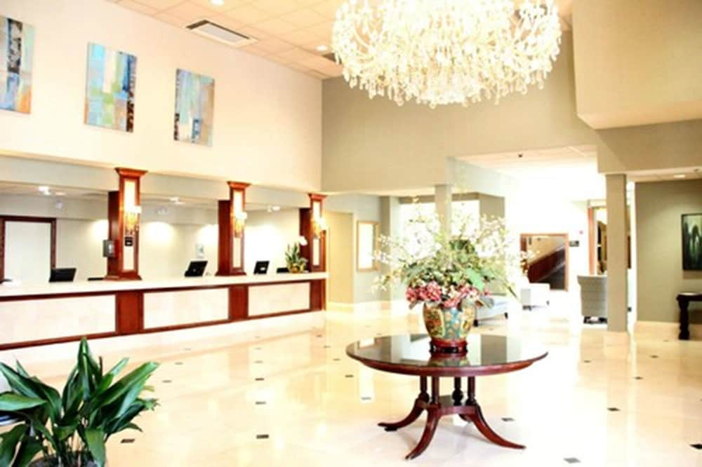 Check-in/Check-out Kiosk, Clayton Plaza Hotel & Extended Stay