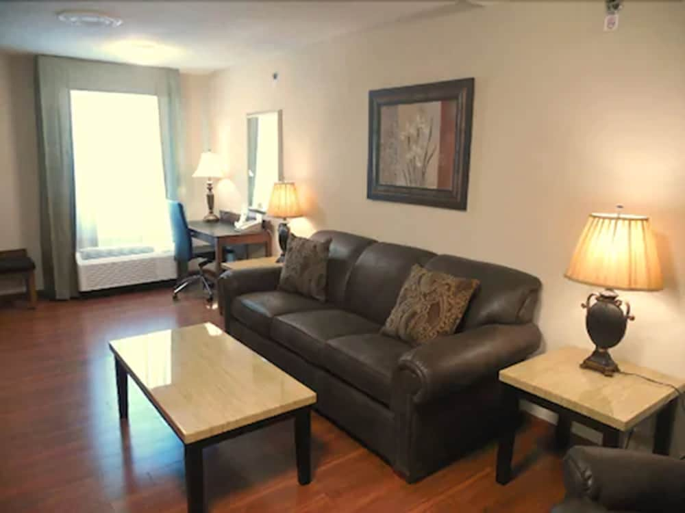 Living Area, Clayton Plaza Hotel & Extended Stay