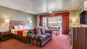 Blackout drapes, rollaway beds, free WiFi, linens