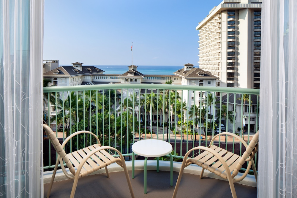 Balcony View, Sheraton Princess Kaiulani