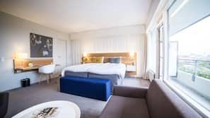 Premium-sengetøj, pengeskab på værelset, individuelt design, skrivebord