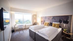 Premium-sengetøj, pengeskab, med varierende dekoration, skrivebord