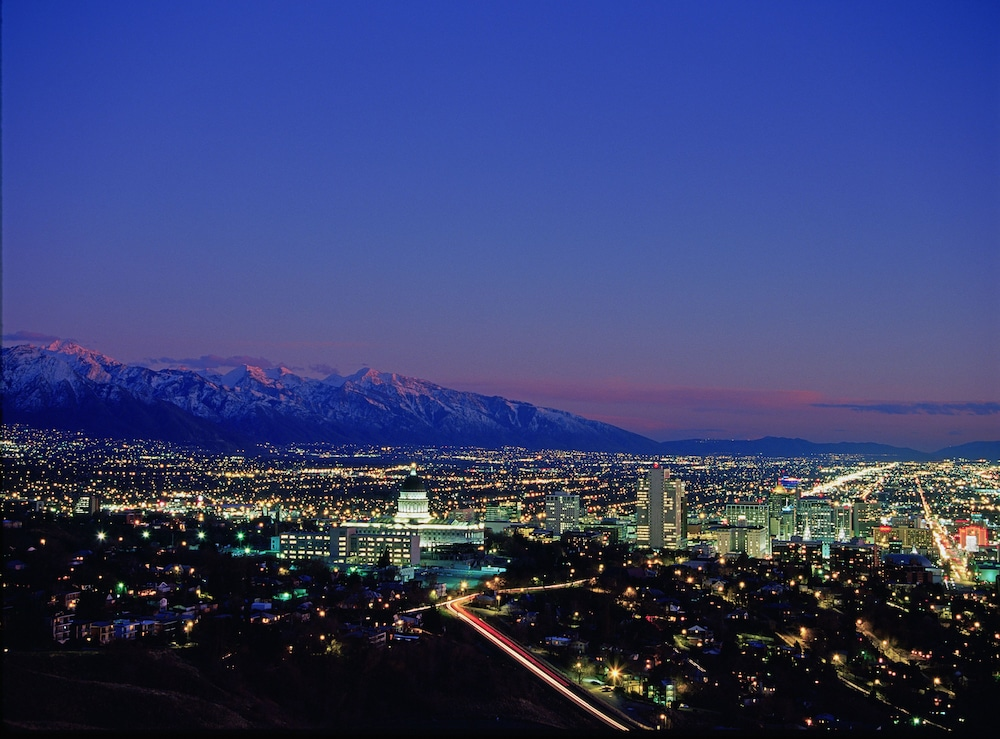 City View, Holiday Inn Express Salt Lake City Downtown
