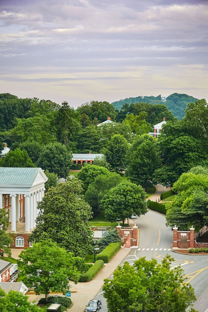 Aerial View, Graduate Charlottesville