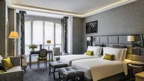 Biancheria da letto ipoallergenica, minibar, cassaforte in camera