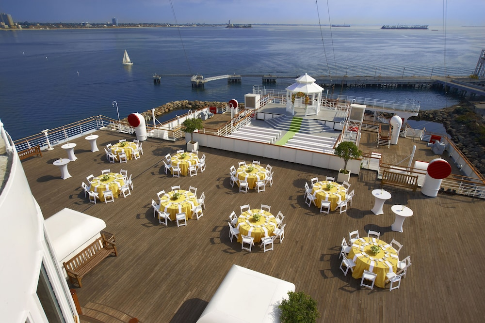 Outdoor Banquet Area, The Queen Mary