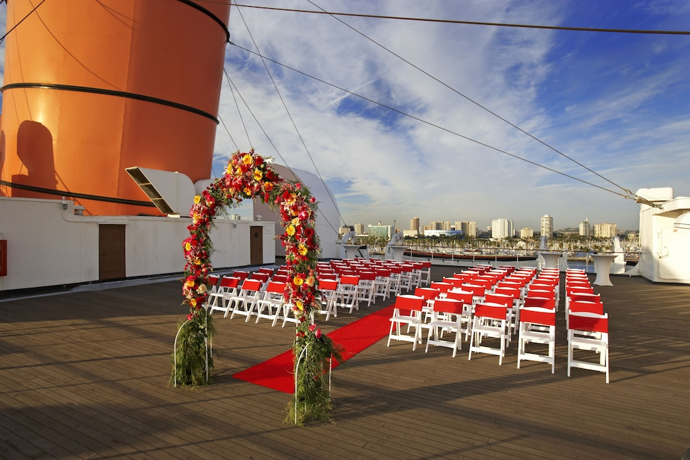 Outdoor Wedding Area, The Queen Mary