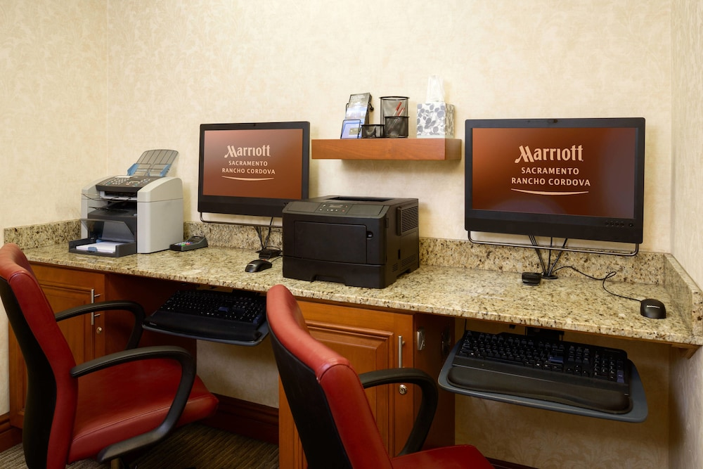 Business Center, Sacramento Marriott Rancho Cordova