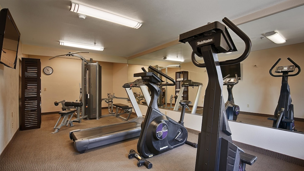Fitness Facility, Best Western Palm Court Inn