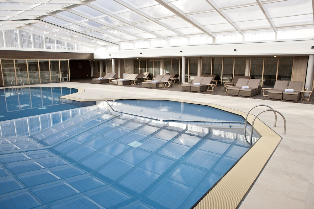 Indoor Pool, WestCord Strandhotel Seeduyn