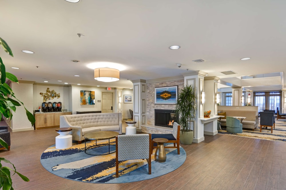Lobby, Homewood Suites by Hilton Hartford/Windsor Locks