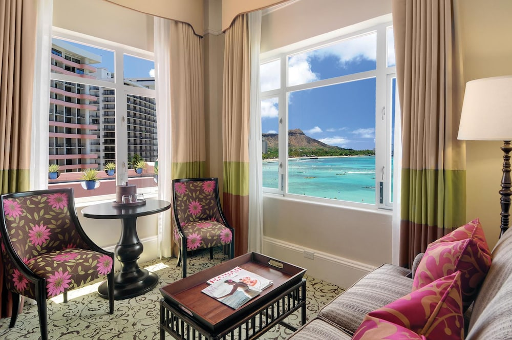 Living Area, The Royal Hawaiian, a Luxury Collection Resort, Waikiki