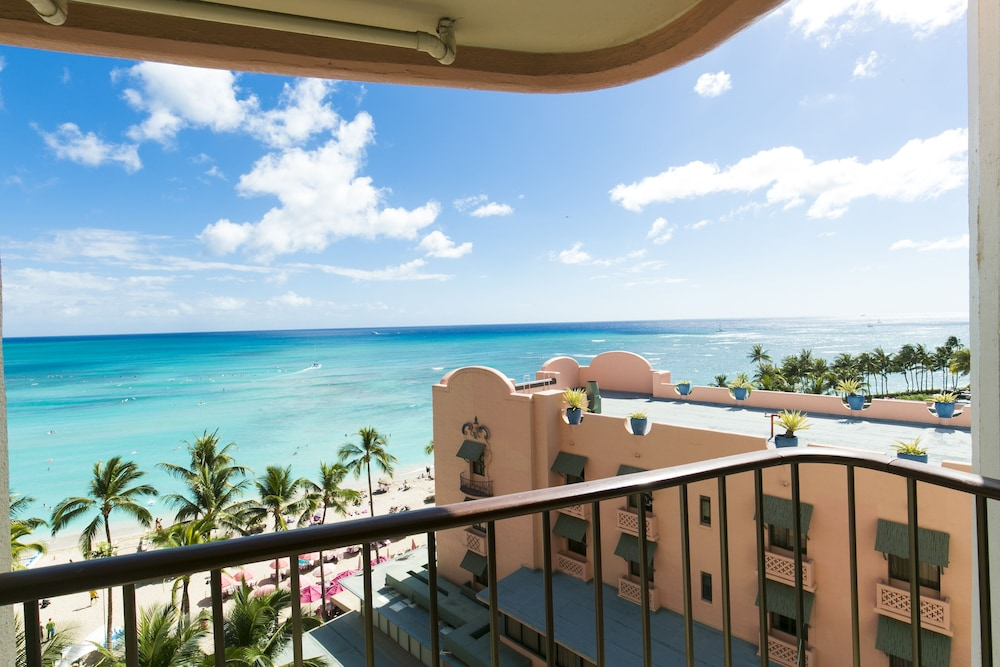Balcony View, The Royal Hawaiian, a Luxury Collection Resort, Waikiki