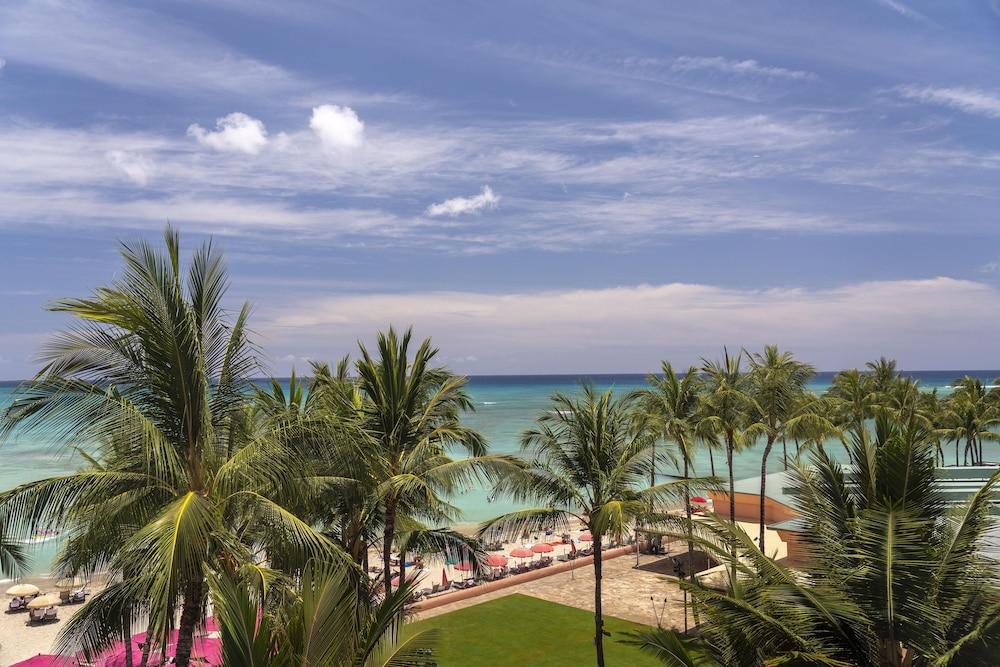 View from Property, The Royal Hawaiian, a Luxury Collection Resort, Waikiki