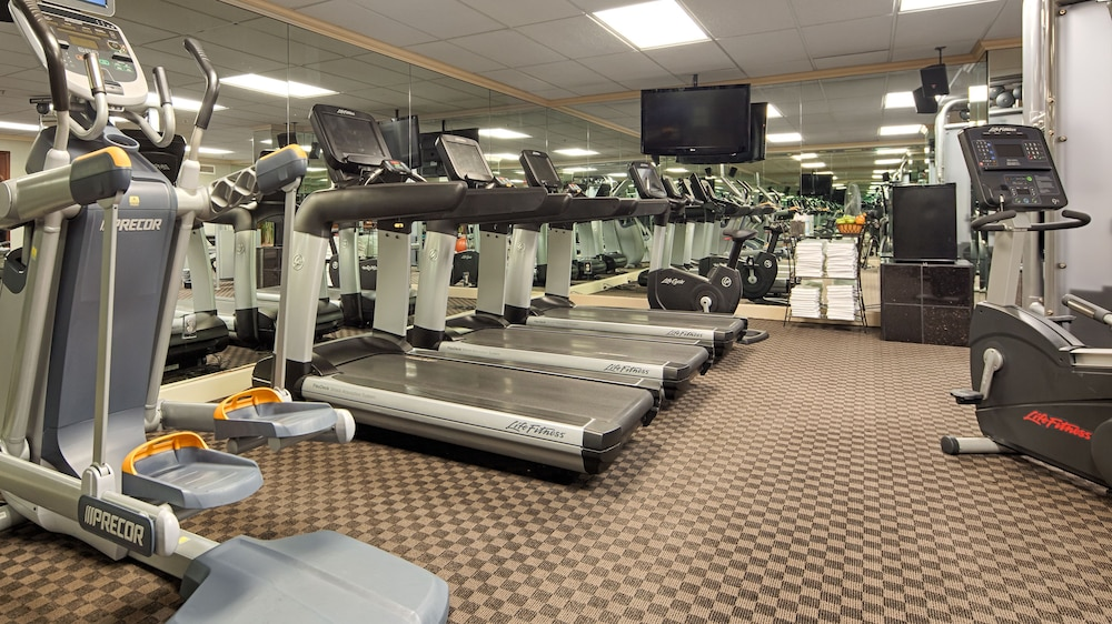 Fitness Facility, The Townsend Hotel