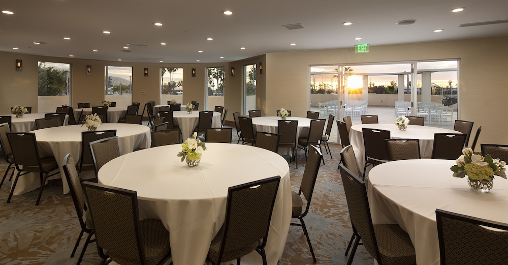 Banquet Hall, Redondo Beach Tapestry by Hilton