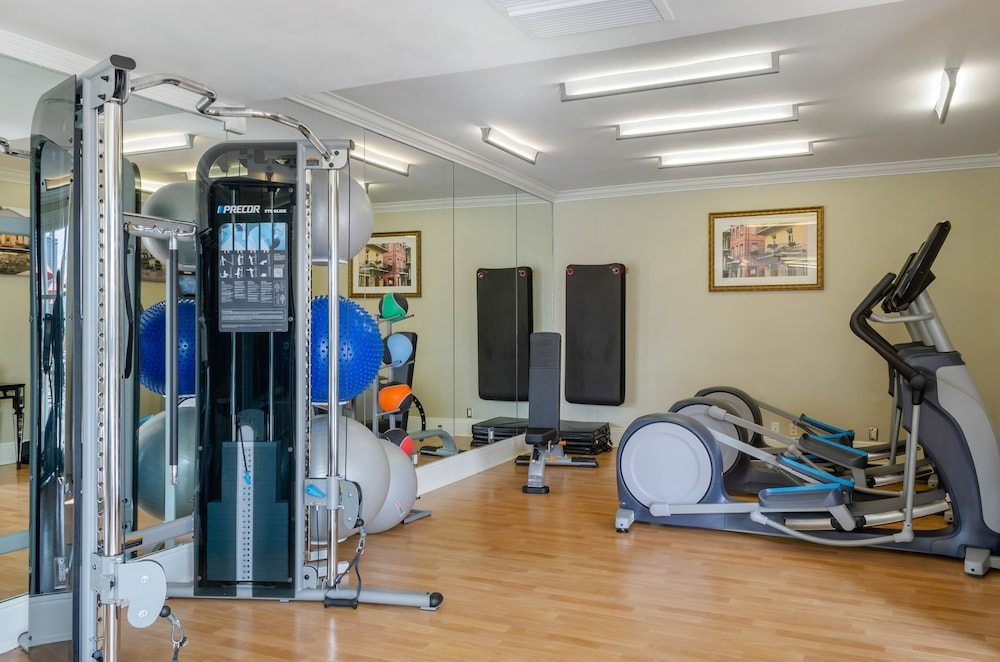 Fitness Facility, Omni Royal Orleans Hotel