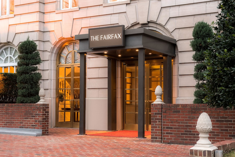 Property Entrance, The Fairfax at Embassy Row, Washington, D.C.