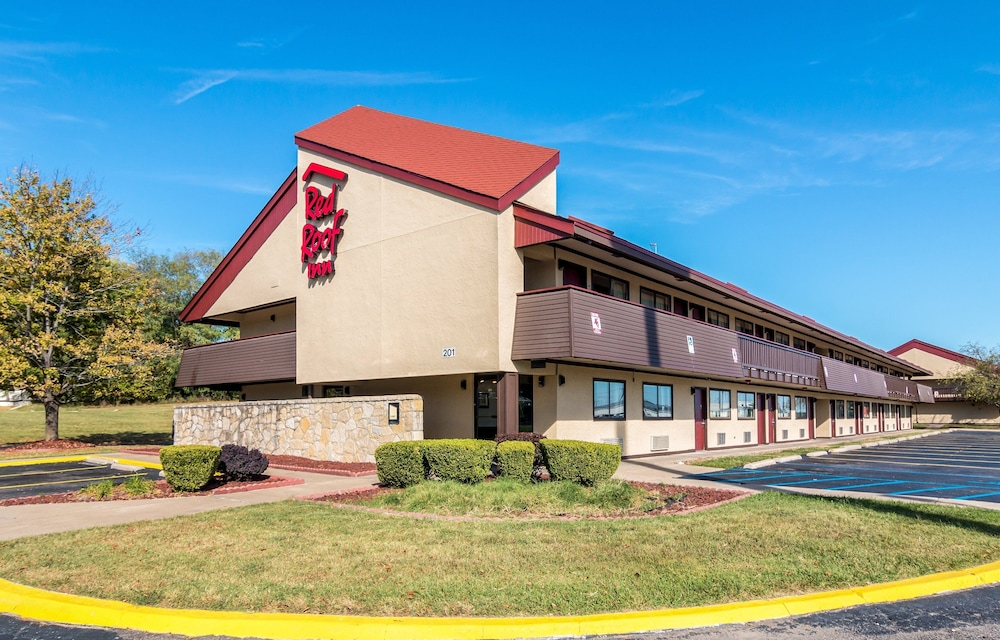 Exterior, Red Roof Inn Columbia, MO