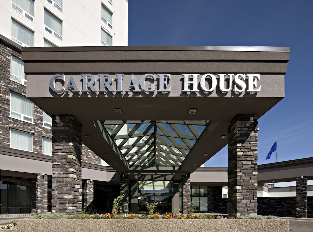 Interior Entrance, Carriage House Hotel & Conference Centre
