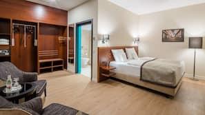 Allergitestet sengetøy, minibar, safe på rommet og blendingsgardiner