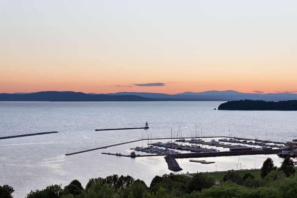View from Room, Hilton Burlington Lake Champlain