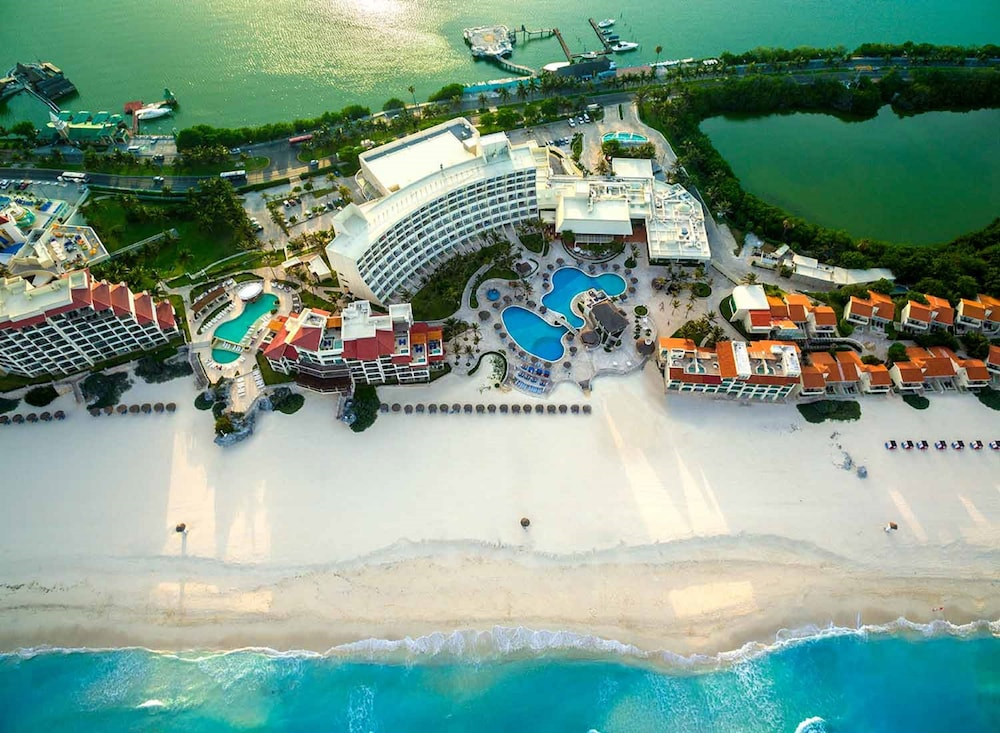 Aerial View, Grand Park Royal Cancun - All Inclusive
