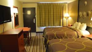 In-room safe, desk, iron/ironing board, free WiFi