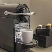 Kaffe og/eller kaffemaskine
