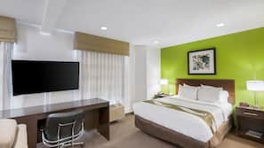In-room safe, iron/ironing board, rollaway beds, bed sheets