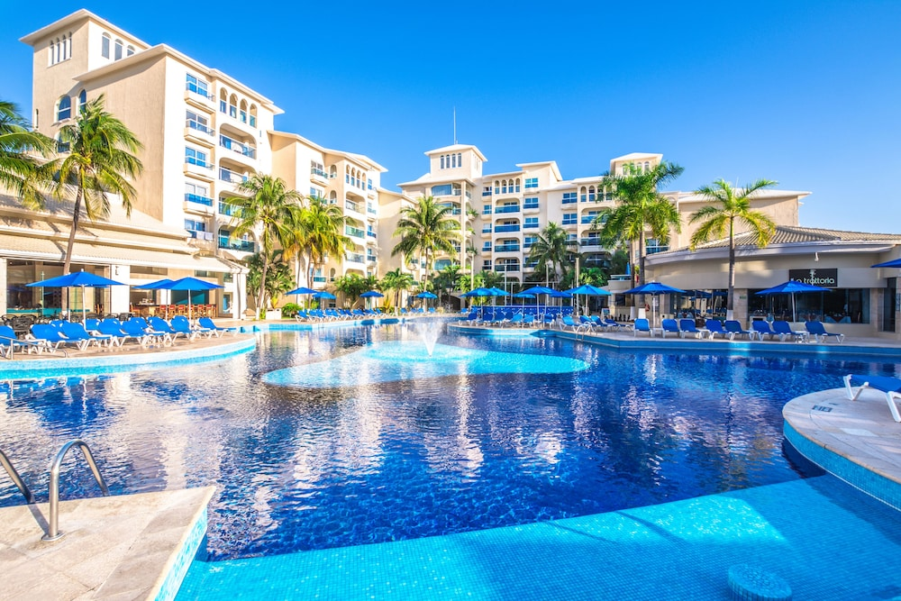 Occidental costa canc n all inclusive in cancun hotel for Top 5 all inclusive resorts